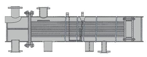 Подогреватель пароводяной кожухотрубный ПП2-6-2-2 с плоским днищем